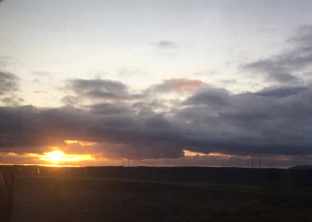 Sunrise over Iceland